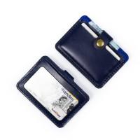 Dompet Kartu emoney simple card holder slim wallet kulit asli DKK-B05