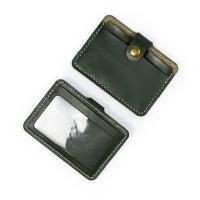 Dompet Kartu emoney simple card holder slim wallet kulit asli DKK-H05