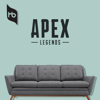 STICKER CUTTING WALLPAPER DINGDING APEX LEGENDS LOGO ORACAL 75x50