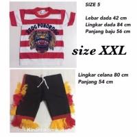 Size XXL - Setelan Baju Reog Ponorogo Anak - BAJU REOG PONOROGO