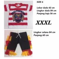 Size XXXL - Setelan Baju Reog Ponorogo Anak - BAJU REOG PONOROGO