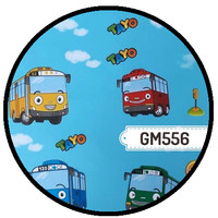 Wallpaper Dinding Sticker Dinding Tayo GM556 45cmx5m