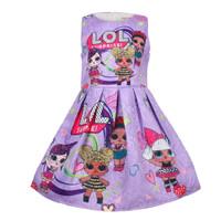 Dress anak LOL - B import - Dress Jacquard 0123