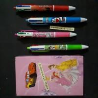 Pen (Ballpen) 4 warna frozen fever