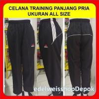 Celana Training Olah raga Panjang Pria Jumbo Allsize Adidas
