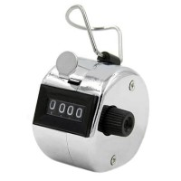 HAND TALLY COUNTER STAINLESS 4 DIGIT ALAR HITUNG CHECKER HAND COUNTER