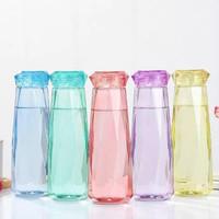 Botol Minum Kaca Kristal 485 ml / Bottle Diamond