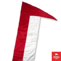 Indonesian Flag Umbul-Umbul Vertikal 3 Meter Merah Putih
