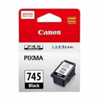 TINTA PRINTER CANON PG 745 BLACK ORIGINAL