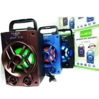 Speaker Fleco F-2923 Bluetooth Portable MP3 FM Memori USB