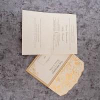 Cetak Undangan Pernikahan Elegan Cantik Blanko Code 88178