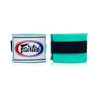Muaythai Boxing Cotton Pro Handwraps FAIRTEX - Mint Green