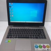 Laptop Asus A456UQ Core i5-7200U Ram 8GB Vga Nvidia GT940MX-2GB Second