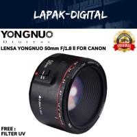 Lensa Yungnuo YN-50mm F1.8 Mark ll For Canon