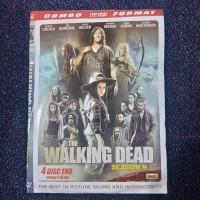 KASET DVD FILM SERI BARAT THE WALKING DEAD SEASON 9 LENGKAP 4 DISC END