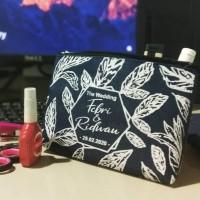 pouch dompet souvenir pernikahan 20×15