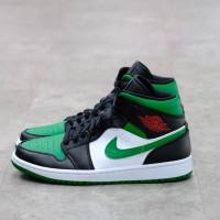 Nike Air Jordan 1 Mid Pine Green 100% Authentic