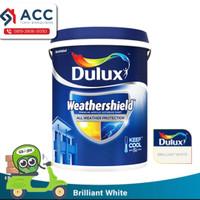 Cat Dulux Weathershield Eksterior Brilliant White 2,5ltr
