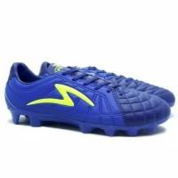 Sepatu Bola Specs Barricada Kaze FG (Navy/Tulip Blue/Safety Yellow)