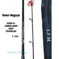 SUPER LENTUR !!! Joran Carbon Swan Nagoya 1.5m - 1.8m Japan Tecnology