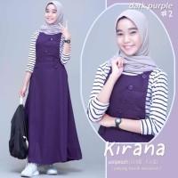 Baju gamis Muslimah Remaja Anak Kirana by shofiya