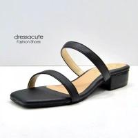Sepatu sandal sendal wanita hak tahu big high heels dl 57