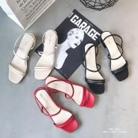 Sepatu sandal sendal wanita hak tahu big high heels pr 03