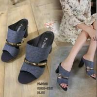 Sepatu sandal sendal wanita hak tahu big high heels ddn 01
