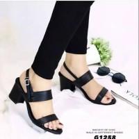 Sepatu sandal sendal wanita hak tahu big high heels dn 08