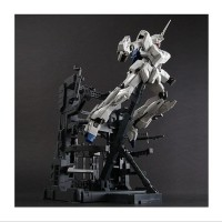 Mg Rx-0 Unicorn Gundam Hd Color & Ms Cage