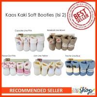 Kaos Kaki Bayi Soft Booties 0-6m (Isi 2)