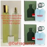 parfum pria HUGO BOSS ARMY MAN (30ml refill) wangi original