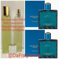 parfum pria VERSACE EROS (30ml refill) wangi original