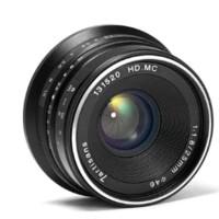 New Sale 7Artisans 25Mm F1.8 Black For Sony / Fuji Lens Wide Lensa