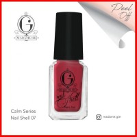Madame Gie Nail Shell N Shell Peel Off Calm Series