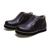 Sepatu Anak Laki Laki Branded Ori Bm8 Kulit Sepatu Boots Anak Cowok