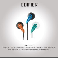 Edifier H185 Earphone Series, GREEN, BLUE, GOLD