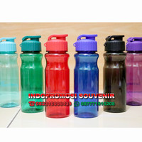 Tumbler florida plastik bpa free / botol minum custom logo