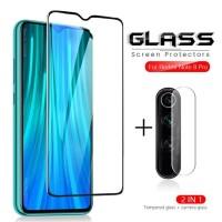 PAKET Tempered Glass Kamera + TG Anti Gores XIAOMI REDMI NOTE 8 PRO