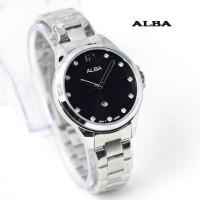 jam tangan ALBA WANITA SILVER HITAM