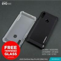 VEVORIUM EVO MAX Asus Zenfone Max Pro M2 ZB631KL Soft Case Anti Crack - BENING, FREE TEMPERGLAS