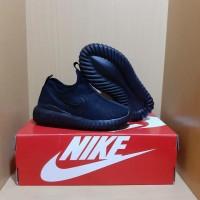 Sepatu Anak Nike Slip On All Black Grade Original