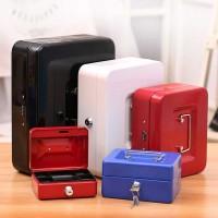 Brankas Mini Kotak Uang Perhiasan Safebox Key Lock 25x20x9CM - 250A