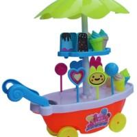Mainan Anak Jualan Es Krim Gerobak Ice Cream Station