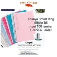 Kokuyo Smart Ring Binder B5 muat 100 lembar L-SP706 . JA80