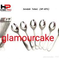 sendok makan hotel super tebal stainless steel (HP-07S) isi 6 pcs