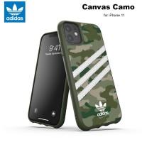 Case iPhone 11 Adidas Originals Canvas Camo - Raw Green
