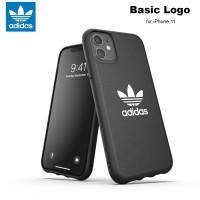 Case iPhone 11 Adidas Originals Basic Logo Soft Case - Black