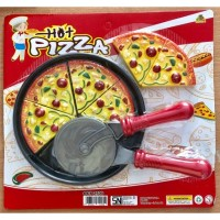 pizza mainan anak / pizza potong / mainan anak / alat masak mainan