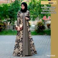 Gamis Batik / Gamis Batik Bolero / Gamis Modern / Dress Batik Wanita